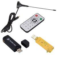 RTL2832U+FC0012 USB DVB-T MPEG4/H.264 HDTV Tuner Stick FM+DAB w/ MCX  Antenna