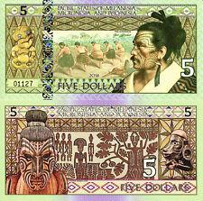 PACIFIC STATES MELANESIA MICRONESIA & POLYNESIA 5 Dollars Fun-Fantasy Note 2018
