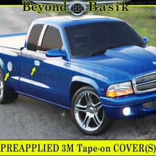 1997-2004 DODGE DAKOTA 2D Chrome Door Handle Covers + Gas Door With PssgKeyHole