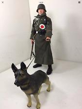 1//6 DRAGON GERMAN FELDGENDARMERIE police militaire chien K-98 WW2 DID BBI 21ST