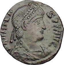 Valens 367AD  Ancient Roman Coin Labarum Chi-Rho Chist monogram  i29984