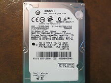 "Hitachi HTS725050A9A362 PN:0J13965 MLC:DA3847 Apple#655-1589B 500gb 2.5"" Sata HD"