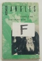 Bangles Eternal Flame What I Meant To Say Cassette Tape Single 1989 Columbia