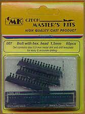 Czech Master Bullone con Testa Esagonale 1.5 mm x 60 # 007