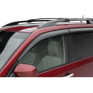 2011-2013 Subaru Forester Side Window Deflectors Rain Guards OEM NEW E3610SC200