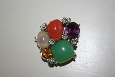 Beautiful~Colorful~3 Strand Necklace Bracelet Jewelry Clasps