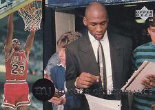 CHICAGO BULLS MICHAEL JORDAN 1994 UPPER DECK RARE AIR #68 DECADE OF DOMINANCE