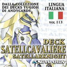 Yu-Gi-Oh! Mazzo SATELLCAVALIERE Completo ☻ Deck 113 ☻ Dimension YUGIOH ANDYCARDS