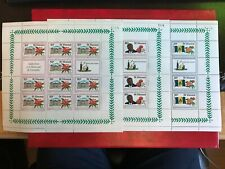ST VINCENT 1979 MNH INDEPENDENCE MINISHEETS x 3