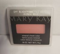 Mary Kay Mineral Cheek Color Shy Blush New In Box