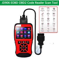 JD906 EOBD OBD2 Scanner Car Auto Engine Fault Code Reader Diagnostic Scan Tool
