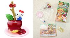 Hello Kitty Apple Forest Sweets Figure #4 Taffy Apple Re-Ment Sanrio Licensed NW