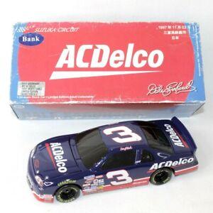 Dale Earnhardt #3 AC Delco Suzuka Circuit 1997 Monte Carlo Nascar Car Bank 1:24