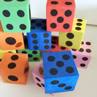 Colorful Foam Dot Dice By Learning Resources - Soft Maths Dice For Children LH