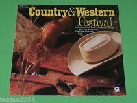 Country & Western Festival V.A.Dave Dudley Hank Snow The Kendalls... - LP