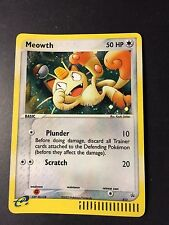Pokemon  MEOWTH E SERIES EXPEDITION 2003 ULTRA PROMO #013 HOLO!  TOTAL SALE !!