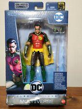 "Red Robin - DC Multiverse 6"" action Figure New In Box - Tim Drake Batman Joker"