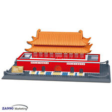 758Pcs Beijing Tian An Men Architecture Building Blocks DIY Educational Toys