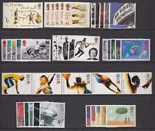 G.B. - COMPLETE 1996 COMMEMORATIVE YEAR SET UNMOUNTED MINT - (9 SETS)  (REF.A2)
