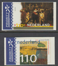 Niederlande 2000 ** Mi.1805/06 Gemälde Paintings Rembrandt Krabbe [st2825]