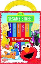 My First Library Sesame Street : 12 Board Books (2004, Board Book / Hardcover)
