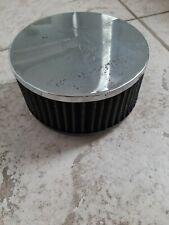 """Chrome air filter K&N Ford Pinto 2,063""""FLG - 5,5""""OD - 2,5""""H"""