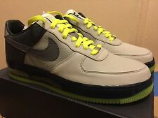 new style c6446 f0387 Nike Air Force 1 Supreme MAX AIR Size 12 Leather DEADSTOCK AIR MAX 95 NEON  KITH