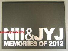 VERY RARE JYJ & NII Memories of 2012 photobook Jaejoong Jejung Junsu Yuchun