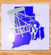 """6"""" Rhode Island Disc Golf Vinyl Decal"""