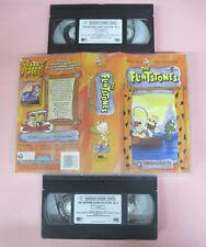 BOX 2 VHS film THE FLINTSTONES COLLECTION volume 5 animazione WARNER(F164)no dvd