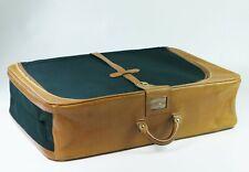 élégante valise vintage années 50 -60 DELVAUX Bruxelles suitcase koffer luggage