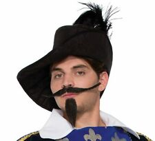 Musketeer Beard & Moustache Set Facial Hair Cosplay