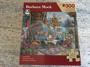 """300 Piece Jigsaw Puzzle by Karmin """" Front Porch"""""""