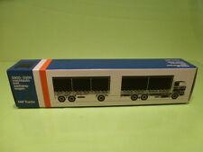 LION CAR 74 DAF TRUCKS 2800-3300 TRAILER - 1:50 GOOD - * ONLY EMPTY BOX * (13)