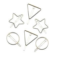 6 pezzi donne argento fermaglio per capelli forcine forcine forcelle moda