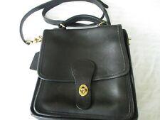 COACH Vintage Station Bag  Black Brass