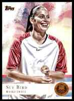 2012 TOPPS OLYMPICS COPPER SUE BIRD BASKETBALL #20 PARALLEL