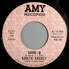 """Hear It 60's Psychedelic Garage Promo 45 rpm Kinetic Energy """"Susie-Q"""" from 1968"""