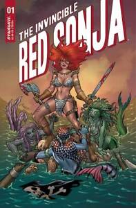 Invincible Red Sonja #1 | Select Main & Variants | Dynamite Comics 2021 NM