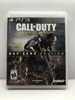 Call of Duty Advanced Warfare - Day Zero Edition - PlayStation 3 - Clean Tested