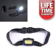 ULTRA BRIGHT COB LED HEADLIGHT HEAD TORCH MECHANICS CAMPING FISHING 65258