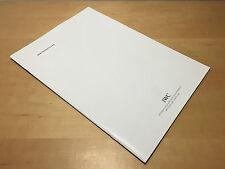 Press Release - IWC Schaffhausen - New Prodotti 2005 - For Collectors