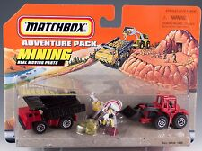 Matchbox Adventure Pack Mining Playset New On Card 1997