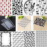 Plastic Embossing Folder Template DIY Scrapbooking Papercraft Card Decoration