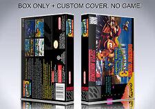 DONKEY KONG COUNTRY 3. NTSC VERSION. Box/Case. Super Nintendo. (NO GAME).