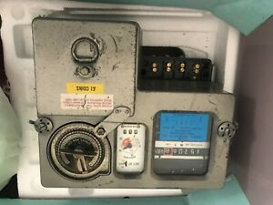 coin opertated electric meter