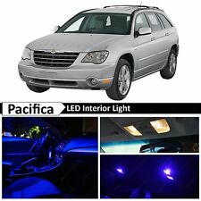 14x Blue Interior LED Lights Package Kit for 2004-2008 Chrysler Pacifica