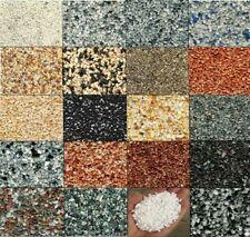 Farben Steinteppich 2,5m² +LF68-Bindemittel für AUSSEN Terrasse Balkon