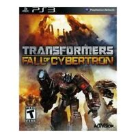 Transformers: Fall of Cybertron PS3 Game PlayStation 3 T-Kids