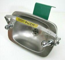 Speakman Emergency Eyewash Station Select Series Wall Mounted Stainless Bowl
